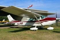 Skylane: Cessna 182 CC-PNP (foto: Carlos Ay).