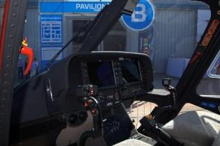 Un rasgo distintivo del AW119Kx es su moderno tablero digital dotado de sistemas integrados Garmin G1000H(TM) para mejorar el dominio situacional del piloto y la seguridad del vuelo (foto: Fernando Puppio).