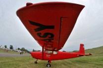 Cessna 172 perteneciente al Aero Club los Cuatro Vientos. (Foto: E. Brea)