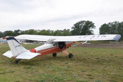 El Aero Boero 180 RVR LV-ATN del Aeroclub Dolores (Foto: Esteban Brea)