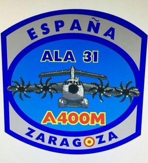 El nuevo parche que utilizan las tripulaciones asignadas al A400M (imagen: via Jose Luis Franco Laguna)