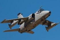Las fuerzas aéreas extranjeras también se adiestran en Bardenas como el piloto de este AMX italiano (foto: YFC Photography)