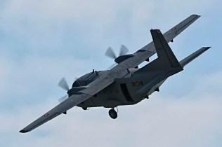 C-212 Aviocar empleado por los paracaidista de PAPEA (foto: Tono Fernández Leonarte)