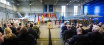 Ceremonia de relevo en Amari (foto: NATO)