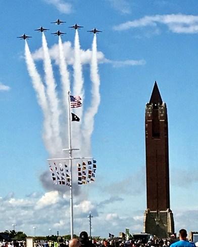 Thunderbirds en el obelisco