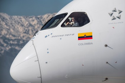 Dreamliner de Avianca (foto: Gabriel Luque).