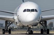 En Arturo Merino Benítez abundan los Dreamliners y allí es posible ver los de varias aerolínes, en este caso uno de Latam (foto: Gabriel Luque).
