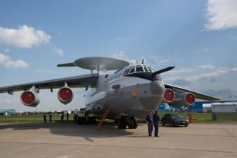 El avión de alerta temprana Beriev A-50 (foto: Rostec)