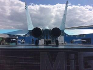 Vista posterior del MiG-35 (foto: Rostec).