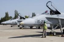 Recuperando aviones (foto: José Luis Franco Laguna)