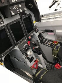 Cockpit del Texan II argention (foto: FAA)