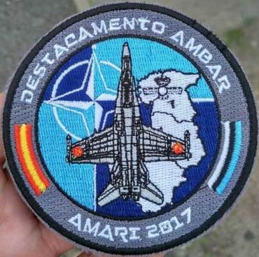 Emblema del Destacamento Ámbar (foto: via Miguel Ángel Blázquez)