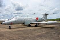 El R-35A 6001 fue uno de dos representantes de la Força Aérea Brasileira en la ceremonia del 40 aniversario de sus homónimos de la Fuerza Aérea Argentina (foto: Javier Ruberto & Javier Funes).