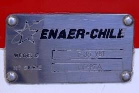 La placa del prototipo T-35 YBT ilustra su matrícula como número de serie (foto: Carlos Ay).