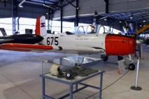 El T-34A FAU 675 fue visto en el Museo Aeronáutico de Carrasco para el Día del Patrimonio (foto: Faunáticos / Fanáticos de la Fau).
