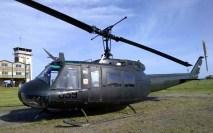 El UH-1H FAU 059 se presentó en octubre tanto en Pando y Montevideo para el Día del Patrimonio como para el III Aeroshow de Canelones (foto: Faunáticos / Fanáticos de la Fau).