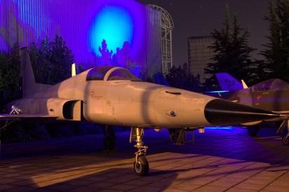 Northrop F-5E 811 del Grupo de Aviación No.7 de la FACH (foto: Carlos Ay).