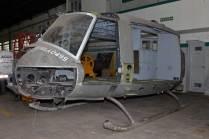 Otra novedad de este año fue la sección frontal del Bell UH-1H Iroquois Serial No. 67-18577. (Foto: E. Brea)
