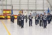 Formación dentro del hangar del A400M (foto: José Luis Lezg)