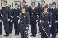 Personal femenino del Ejercito del Aire en formación (foto: José Luis Lezg)