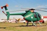 Hughes 369D GN-918 (photo: Carlos Ay).
