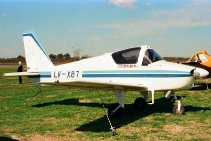 Jorge Newbery JN-01 LV-X87 (photo: Carlos Ay).