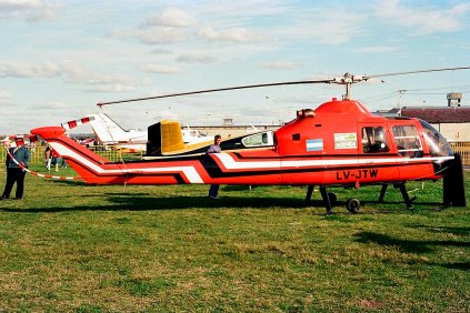 Fairchild-Hiller FH-1100 LV-JTW (photo: Carlos Ay).