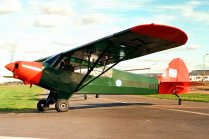 Piper PA-18 Super Cub GN-602 (photo: Carlos Ay).