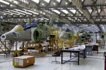 Future Pampa III and/or Pampa GT airframes inside Hangar 90 (photo: Diego Rojo).