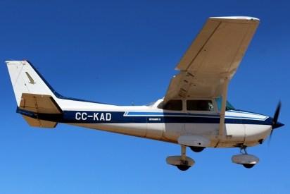 """Skyhawk II"": Los Andes Air Club Cessna 172P CC-KAD (photo: Carlos Ay)."