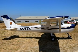 Austral visitor: Concepción Air Club Cessna 150 CC-SZH (photo: Carlos Ay).