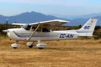 Skyhawk SP: Aerotrust Cessna 172 CC-AIN (photo: Carlos Ay).