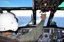 Navy ASH-3H Sea King 0796/2-H-238 approaching an Argentine Navy MEKO vessel while on the 3rd Sea Stage (III Etapa de Mar) in September (photo: Gaceta Marinera).