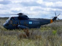 Navy UH-3H Sea King 0881/3-H-240 in operation Unidef in October (photo: Emilio Bilesio).