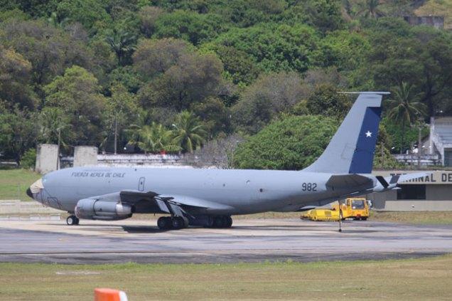 FACH KC-135 at Recife (photo: Rob Nispeling)