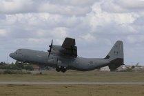 Canadian CC-130J tactical take-off (photo: Rob Nispeling)