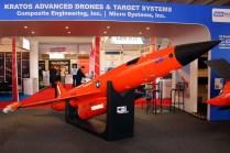 USAF Kratos BQM-167A target drone (photo: Carlos Ay).