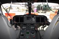 AW139M's fully digital cockpit comprises a host of multifuncion displays (photo: Fernando Puppio).