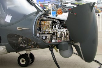 The bulky nose housing most of the avionics systems caught while on inspection (photo: Luis Quintana).