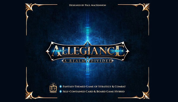 Allegiance Divided Play it at the Game Cruise