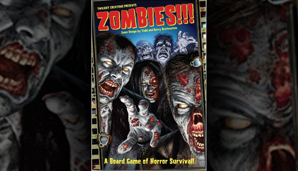 Zombies the board game Play it at the Game Cruise