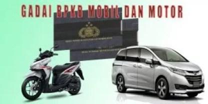 Gadai Bpkb Mobil motor daerah Lampung