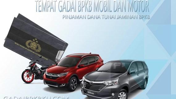 Gadai BPKB Mobil Medan, BPKB Motor Proses Langsung Cair