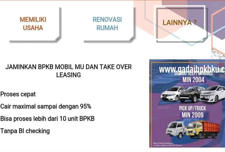 Gadai BPKB Mobil