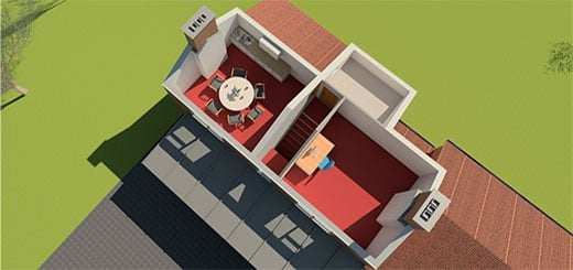 Lincolnshire School Extension and Internal Alterations Visuals