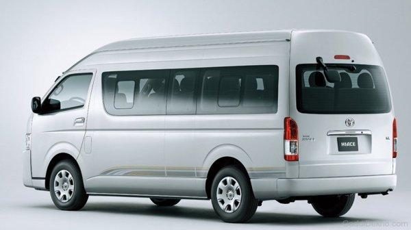 Toyota Hiace Car Pictures Images GaddiDekhocom