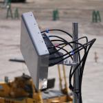 西駐車場で使われた6バンド共用アンテナ