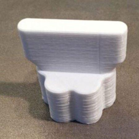 Messerdrehhilfe für den Thermomix TM5 TM6 in Weiß aus ABS gedruckt