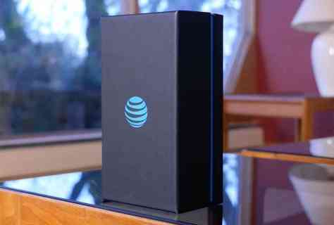 AT&T logo phone packaging