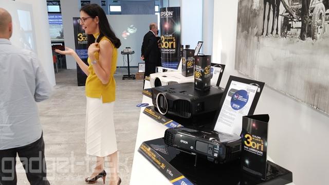 Epson lanseaza noi videoproiectoare